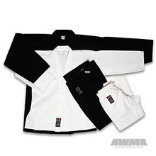 AWMA® ProForce® 10oz. Instructor Uniform - Black (Elastic Drawstring)