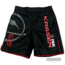 AWMA® Fuji Kassen® Shorts - Black
