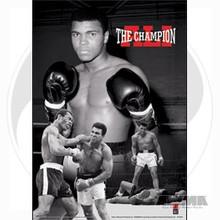 """AWMA® Muhammad Ali's """"Ali The Champion"""" 3D Poster"""
