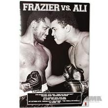 """AWMA® Ali vs. Frazier """"Results"""" Poster"""