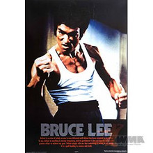 AWMA® Bruce Lee Fist Poster