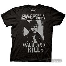 "AWMA® Chuck Norris ""Black Two Speeds"" T-Shirt"