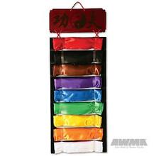 AWMA® 9 Level Kung Fu Sash Display - Wall Mount