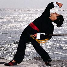 AWMA® ProForce® Gladiator™ Kung Fu Uniform - Black Button