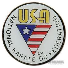 AWMA® NKF USA Pin - White