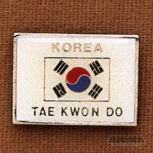 AWMA® Korea - Tae Kwon Do Pin