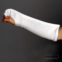 AWMA® ProForce® Combination Fist & Forearm Guards - White