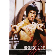 """AWMA® Bruce Lee """"Fight"""" Poster"""