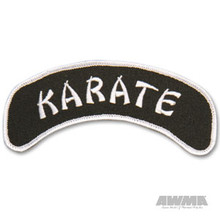 AWMA® Arch Patches - Karate