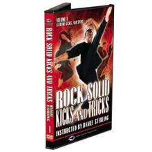 Century® Daniel Sterling Rock Solid Kicks and Tricks Series Titles DVDs