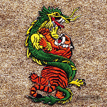 AWMA® Dragon and Tiger Patch