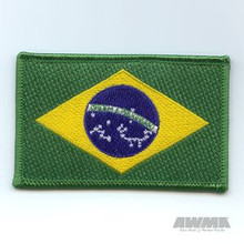 AWMA® Brazilian Flag Patch