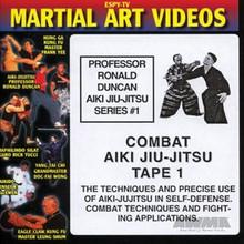 AWMA® DVD: Professor Ronald Duncan Aiki Jiu-Jitsu Series #1