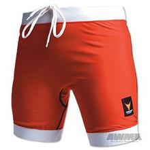 AWMA® ProForce® Thunder Combat Shorts - Red/White