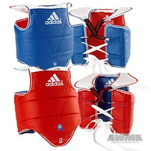 AWMA® Adidas® Solid Reversible Chest Guard