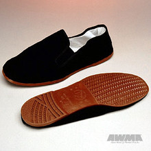 AWMA® Kung Fu Shoes - Brown Soles