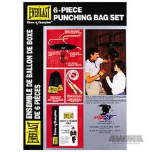 AWMA® Everlast® 6-Piece Punching Bag Set