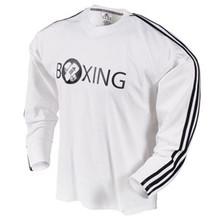 Century® adidas® Long Sleeve White T-Shirt