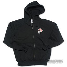 "AWMA® 3"" TKD Logo Hooded Sweatshirt"
