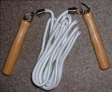 AWMA® Hardwood Swivel Handle Jumprope