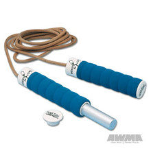 AWMA® All Pro® Weighted Leather Jumprope