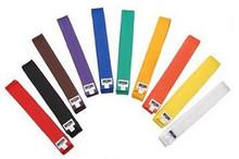 Macho® Martial Arts Rank Belts