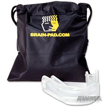 AWMA® Brain Pad® Jaw-Joint Protector - Clear & Clear