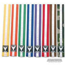 AWMA® ProForce® Thunder White Stripe Double Wrap Belts