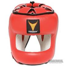 AWMA® ProForce® Thunder™ Vinyl MMA Head Guard - Red