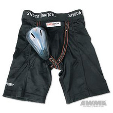 AWMA® Shock Doctor® BasiX Compression Short with Protective Flex Cup