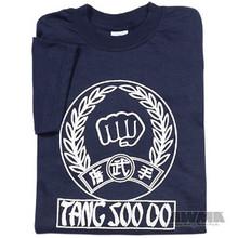 AWMA® T-SHIRT - Tang Soo Do Fist (Navy)