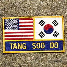 AWMA® USA & Korea - Tang Soo Do Patch