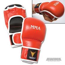 AWMA® ProForce® Thunder™ Throwdown MMA Gloves - Red