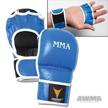 AWMA® ProForce® Thunder™ Throwdown MMA Gloves - Blue