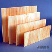 """AWMA® Wooden Breakable Boards - 1/2"""" Thick"""
