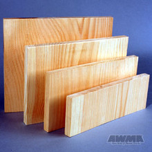 """AWMA® Wooden Breakable Boards - 1"""" Thick"""