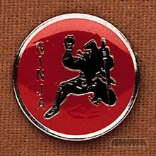 AWMA® Ninja Red/Silver Pin