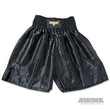 AWMA® ProForce® Thunder Satin Boxing Trunks - black