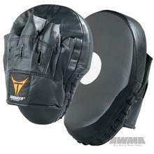 AWMA® ProForce® Thunder Curved Leather Focus Mitts