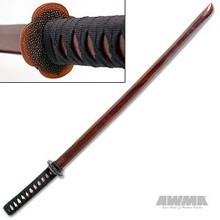 AWMA® Maroon Hardwood Bokken