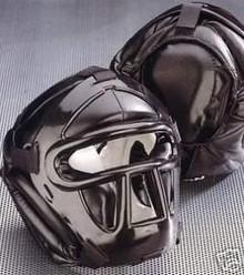 KWON® BLACKLINE Head Guard with top pad