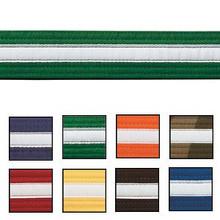 Century® Double Wrap White Striped Belts