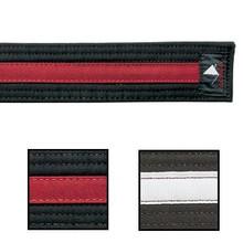 Century® Double Wrap Deluxe Striped Black Belts