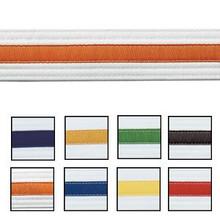 Century® Double Wrap Striped White Belts
