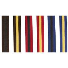 Century® Single Wrap Black Stripe and Black Tip Belts