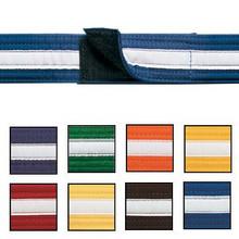 Century® Adjustable White Striped Belts