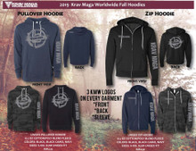 Krav Maga Worldwide Hoodies 2019
