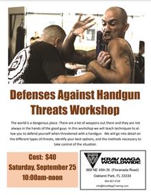 Defenses Against Handgun Threats Workshop