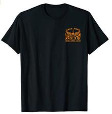 Krav Maga Shirt - Black with Israeli Combat System Logo