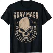 Krav Maga Skull Fight Like A Warrior Shirt
